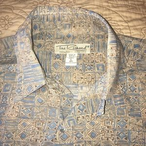 Tori Richards button up shirt Hawaii